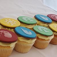 Magic the Gathering Cupcakes