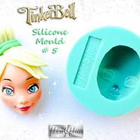 Tinker Bell's Head Silicone Mould