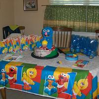 Grover's Birthday Picnic by Sweets By Monica