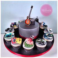 Cake and Cupcake Combo