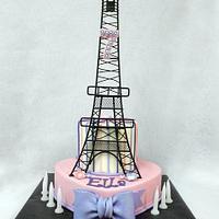Ella's Eiffel Tower