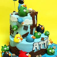 Angry Bird invasion