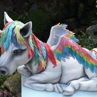 Unicorn / Pegasus Cake