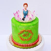 Yoga Lovers Cake