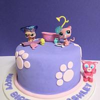 Littlest Pet Shop Cake by Lydia Evans