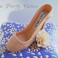 Jimmy Choo Bridal Shower by Tea Party Cakes