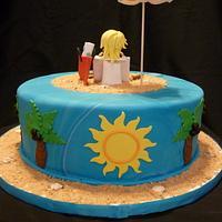 Jersey Girl Beach Cake by Benni Rienzo Radic