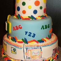 Elmo's World !st Birthday by Tracy's Custom Cakery LLC