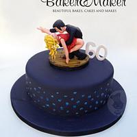 Jive Dancers Cake