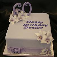 Singapore Orchid Cake