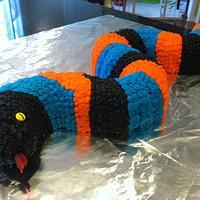 Hudson's Snake Cake