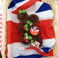 Jubille chocolate fudge cupcakes!