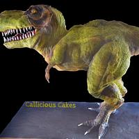 T-Rex Cake