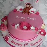 Faye Bear's 1st Birthday