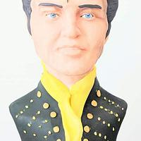 Elvis-Presley- Gone too soon Cake Collaboration
