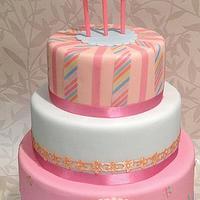 pastels windmill cake