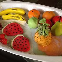 Gumpaste fruits