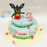 Bing cake girl