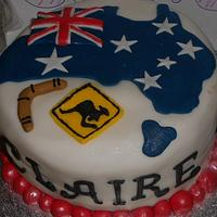 Australian Birthday Cake