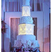 Lantern Wedding Cake
