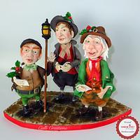 Carol Singers - Saracino Christmas Tree