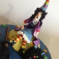 Winnie The Witch & Wilbur by Shereen