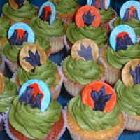 Dino and Cupcakes by Dayna Robidoux
