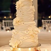 My first ever wedding cake yahoooooo