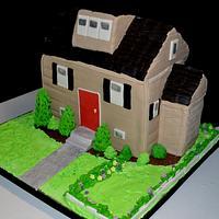 House warming cake by giveemcake