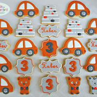 Orange Cars and Teddy Bears