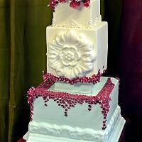 wedd cake original model by crin.sugar