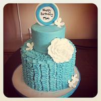 Classy Birthday Cake