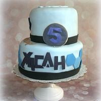 Max Steel Birthday Cake