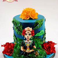 Lady Skull - Sugar Skull Bakers 2014 Collaboration