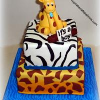 Baby Shower Animal Print