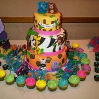 Safari's birthday cake!