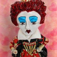 Queen of hearts (Red Queen) by Sweet Catastrophe Cakes