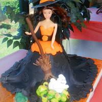 Witch Doll for Halloween