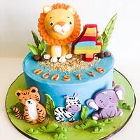 Jungle theme !  by Somoshree Khandekar