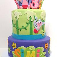 Incredible Dora Birthday Cake Cake By Bumblebake Cakesdecor Personalised Birthday Cards Paralily Jamesorg