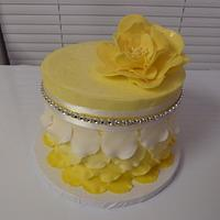 Yellow Petal Cake