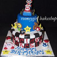 Super Mario Kart Birthday Cake by RooneyGirl Bakeshop
