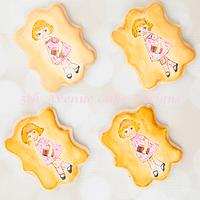 Dolly Dingle Back to School Cookies