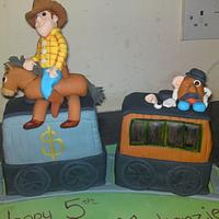 Toy Story .... ALL ABOARD! by lorna johston