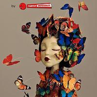 Madame Butterfly (Primavera con arte collab) by Tartas Imposibles