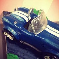 Ford Cobra Shelby car cake