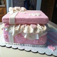 Pink Cake Box 2