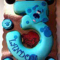 Blue's Clue's Birthday Cake