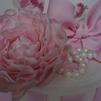 Hat Box Cake for a Special Friend by Let's Eat Cake
