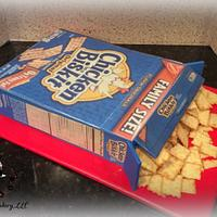 Box of Crackers Cake